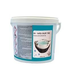 SPA – rapid chlor tabs 5kg